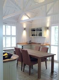 rafters living lighting. Kitchen Interior With White Painted Rafters And King Post Trusses Living Lighting .