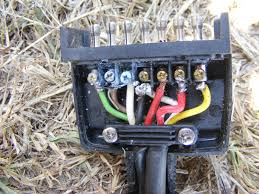 discovery trailer plug wiring diagram wiring diagram and 4 wire trailer lights wiring diagram 7 pin plug