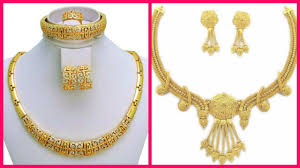 Dubai Gold Designs Online Dubai Gold Necklace Designs With Price