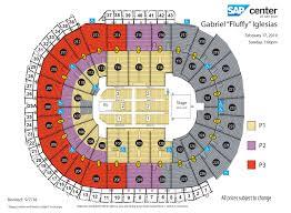 Sap Center Seating Chart Concert 18 Comprehensive Toyota Center Seating Chart One Direction