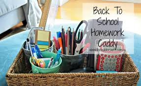 Homework basket