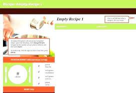 Online Cookbook Template Online Cookbook Template Create Cookbook Templates Online Hafer Co