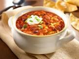 3 bean vegetarian chili  goya beans