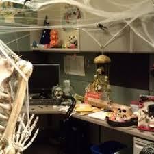 office halloween ideas. Ghost Themed Office Area From Getitcut.com Halloween Ideas
