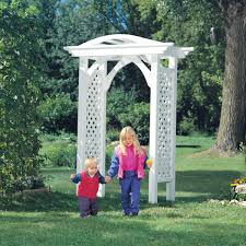 don t be put off by all those difficult looking curves and arches this arbor was designed with simplicity in mind if you have a drill a jigsaw and a