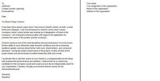 Job Testimonial Sample Recommendation Letter Previous Employer