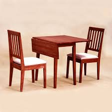 space saving folding furniture. Brown Wood Space Saving Kitchen Tables With Folding Top Added By Two Chairs Back And White Seat Pad Furniture