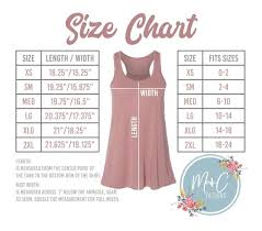 Bella Canvas Muscle Tank Size Chart Bella Canvas 8800 Size Chart Bella Canvas 8800 Size Chart Flowy Tank Bella Canvas Tank Top Size Chart Bc8800