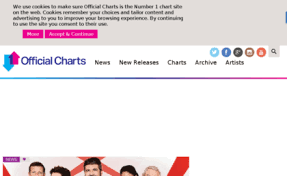 Official Charts 40 Theofficialcharts Com Website Official Charts Home Of The