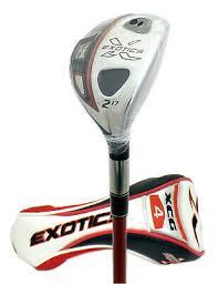 new left handed exotics tour edge xcg4