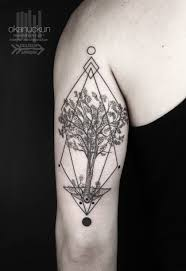 Okan Uckun Tattoo Minimal Istanbul Turkey Tree Of Life