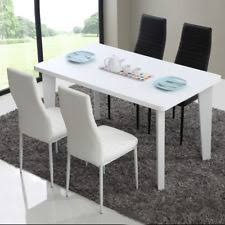 white high gloss 6 8 seaters 140cm extendable dining meeting table furniture uk