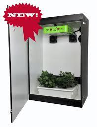 Indoor Grow Box With Lights Grandmas Secret Garden 5 0 4 Plant Led Grow Box The