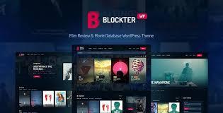 Wordpress Movie Theme Wordpress Blockter Movie Tv Show Database Wordpress