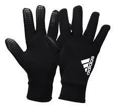 Details About Adidas Field Player Cp Gloves Soccer Black Football Running Touch Glove Cw5640
