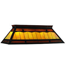 fabulous custom stained glass pool table lights