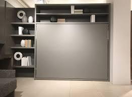 gray murphy wall bed