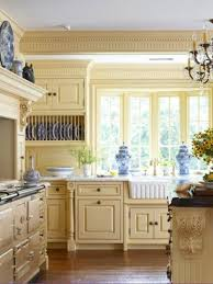yellow country kitchens. Interesting Country Blue And Yellow Kitchen Ideas Grey Inside Design 16 On Country Kitchens S