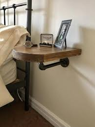 space saving table bedside table diy