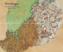 wrothgar map the elder scrolls online game maps com Eso Map wrothgar zone map orsinium city the elder scrolls online eso maps, guides & walkthroughs eso map guide