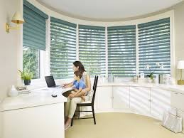 tracy model home office. Pirouette® Window Shadings In A Home Office - Buy At Rooms To Be Remembered Tracy Model O