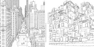 Small Picture A Grown Up Coloring Book for Big City Lovers