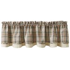 Park Designs Curtains And Valances Amazon Com Park Designs Gentry Lined Layered Valance Home