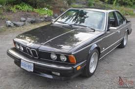 All BMW Models 1980s bmw : 6-Series 635CSi 2 door coupe