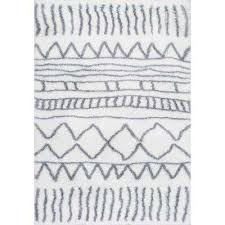 renata moroccan gray 5 ft 3 in round rug