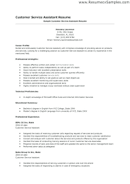 Customer Service Resume Skills Examples Skinalluremedspa Com