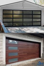 garage doors glass garage door garage