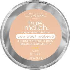 l oreal paris true match super blendable pact makeup