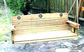 wood bench swing hanging swings porch furniture wooden seat chair old wicker garden uk wood bench