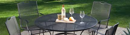 wrought iron patio furniture repair