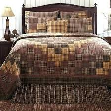 French Country Patchwork Quilted Bedspread Set Oversize King ... & French Country Patchwork Quilted Bedspread Set Oversize King Country Style  Quilt Bedding Country Patchwork Quilts Country Adamdwight.com