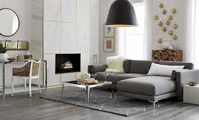 furniture cb2. Two Piece Sectional Sofa From CB2 Furniture Cb2 U