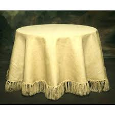 white round tablecloths linen for weddings 90 inch