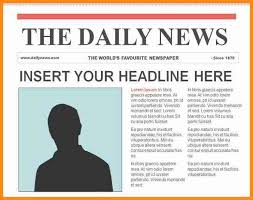Newspaper Template Online - Tier.brianhenry.co