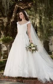 Wedding Dresses With Sleeves Cap Sleeve Wedding Dress Essense