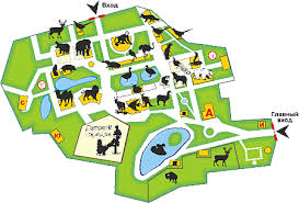 empty zoo map. Delighful Map Kharkiv Zoo With Empty Map