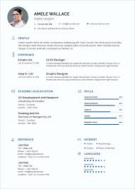 Free Simple Resume Template In Photoshop Psd Format Good Resume