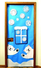 winter classroom door decorations. Wonderful Classroom Holiday Classroom Door Decorations Winter  Decoration Divine Creative Christmas  With I