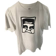 Obey T Shirt Size Chart White Cotton T Shirt Obey White Size M International In