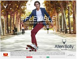 Image result for allen solly flexible ad