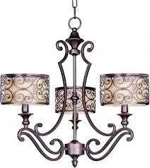 Shades Of Light Online Coupon Code Three Light Umber Bronze Drum Shade Chandelier Sku V19