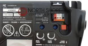 garage doors unfettable chamberlain door opener sensor repair wiring diagram manual sears