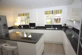 Granite Worktops Kitchen Contemporary Kitchen With Grey Granite Worktops Redditch Diamond