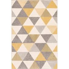 well woven mystic alvin gold 2 ft x 3 ft mid century geometric