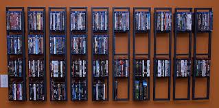 miraculous wall dvd storage of large mounted corner shelves
