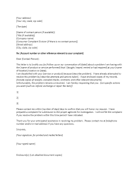 Formal Letters Of Complaint Letter Of Complaint Samples Insaat Mcpgroup Co